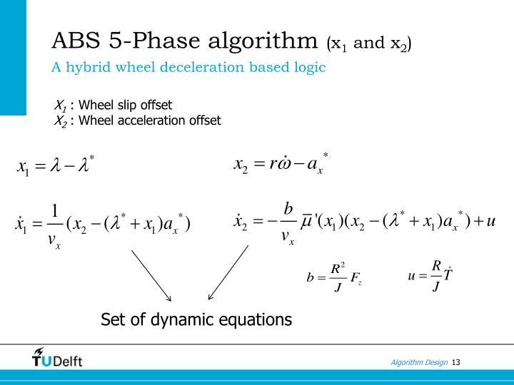 ABS 5-Phase algorithm