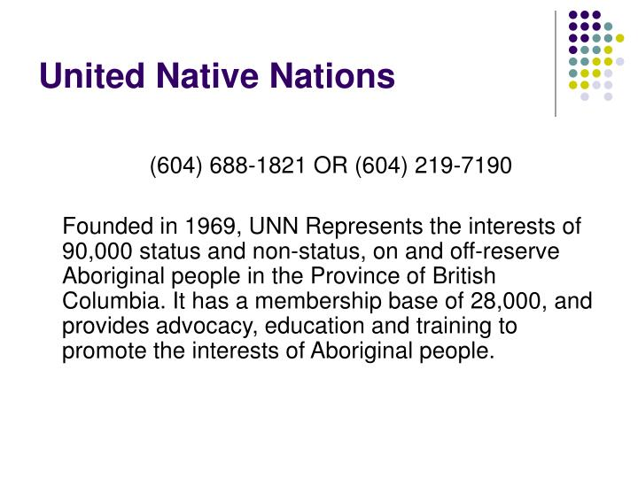United Native Nations