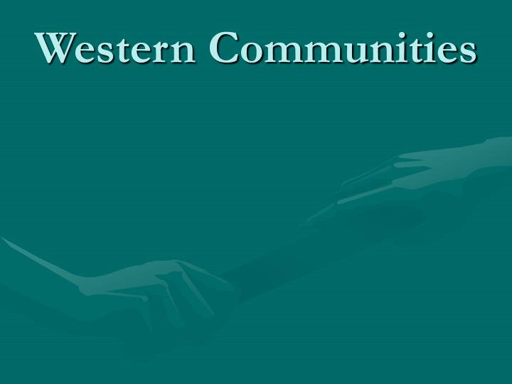 Western Communities