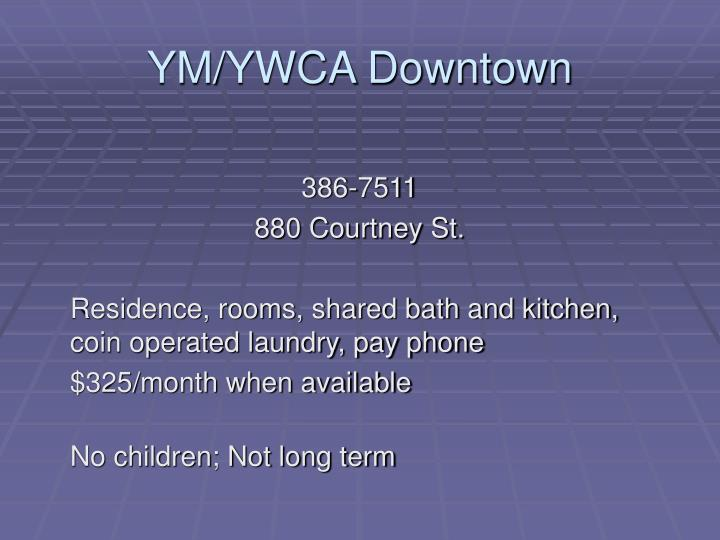YM/YWCA Downtown