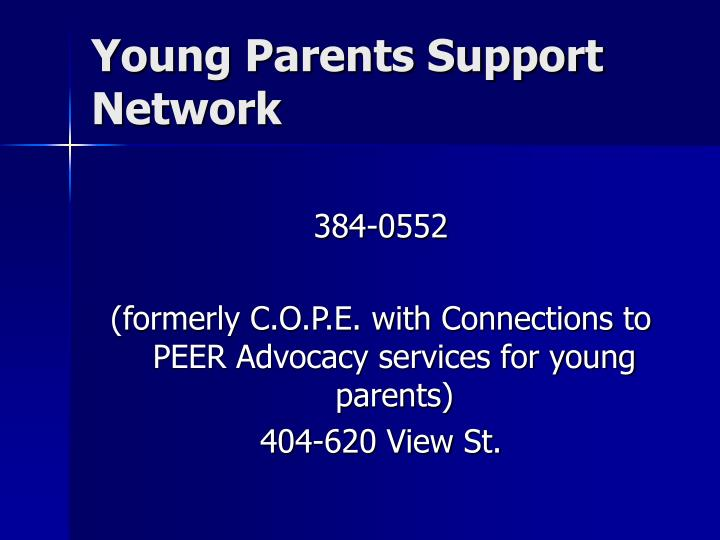 Young Parents Support Network