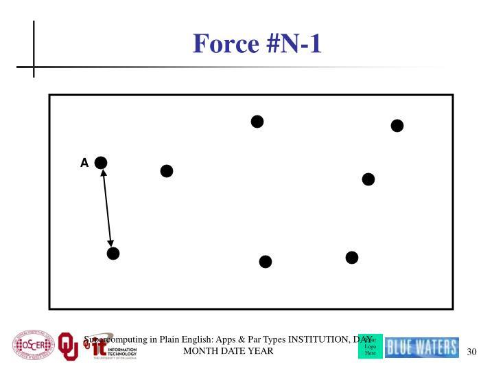 Force #N-1