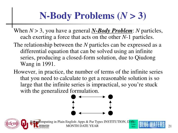 N-Body Problems (