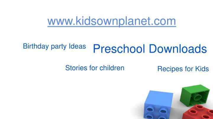 www.kidsownplanet.com