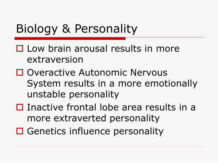 Biology & Personality