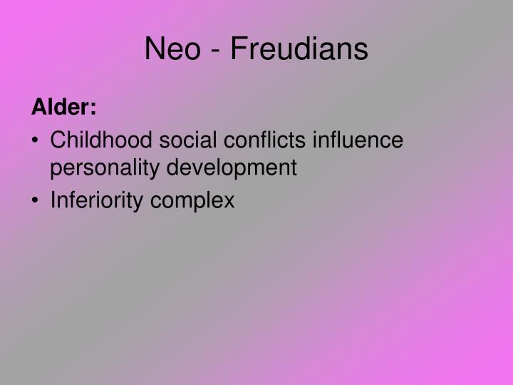Neo - Freudians