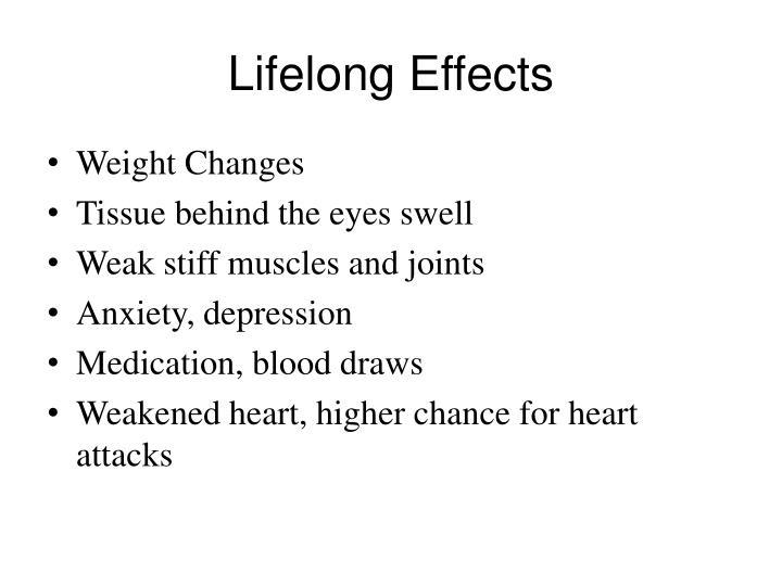 Lifelong Effects