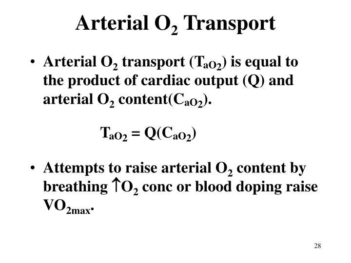 Arterial O