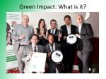 green impact what is it