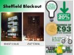 sheffield blackout