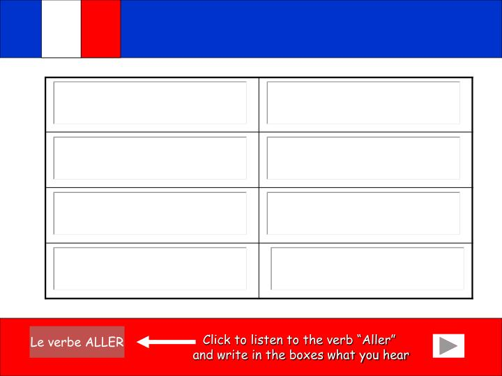 "Click to listen to the verb ""Aller"""