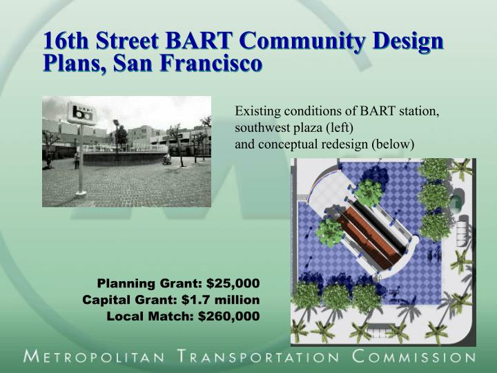 16th Street BART Community Design Plans, San Francisco