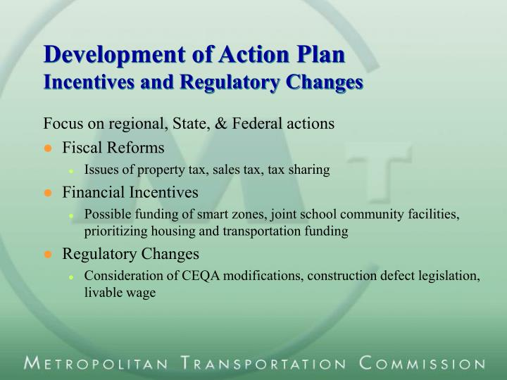 Development of Action Plan