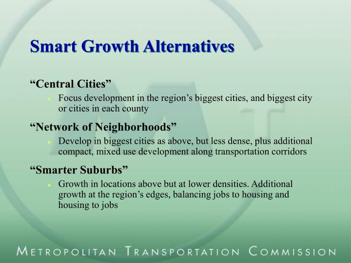 Smart Growth Alternatives