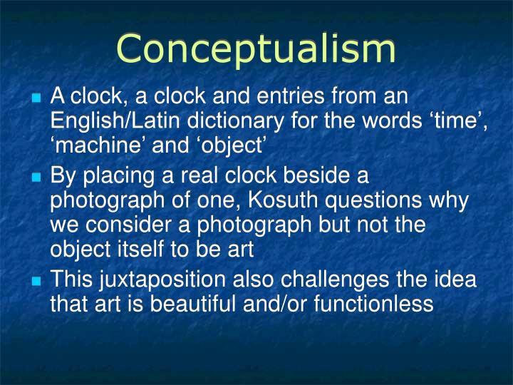 Conceptualism