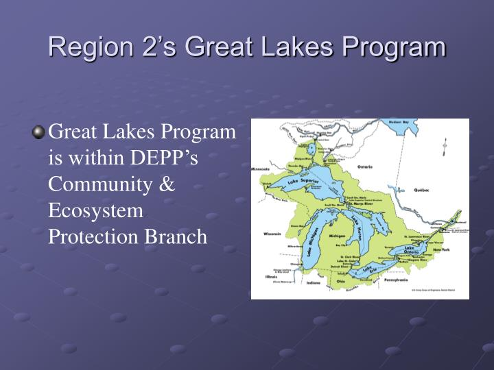 Region 2's Great Lakes Program