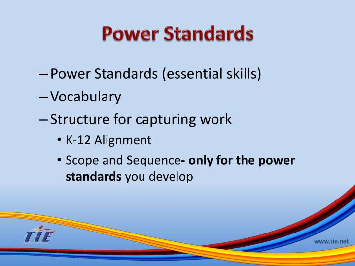 Power Standards