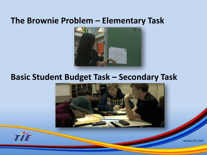 The Brownie Problem – Elementary Task