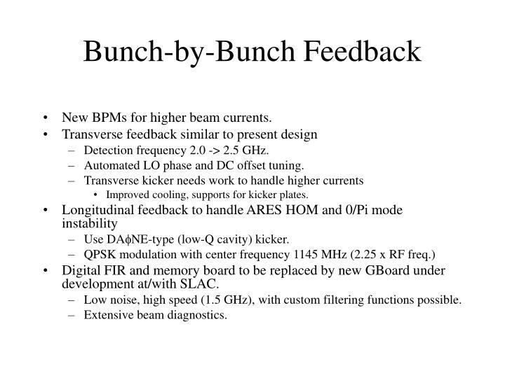 Bunch-by-Bunch Feedback