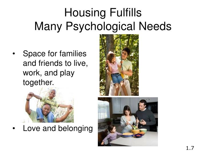 Housing Fulfills