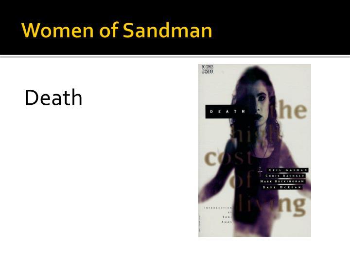 Women of Sandman