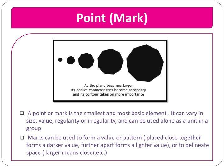 Point (Mark)