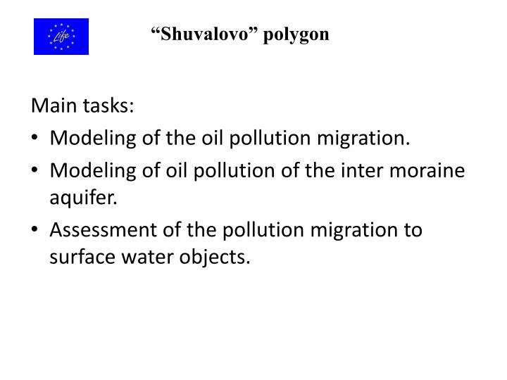 """Shuvalovo"" polygon"
