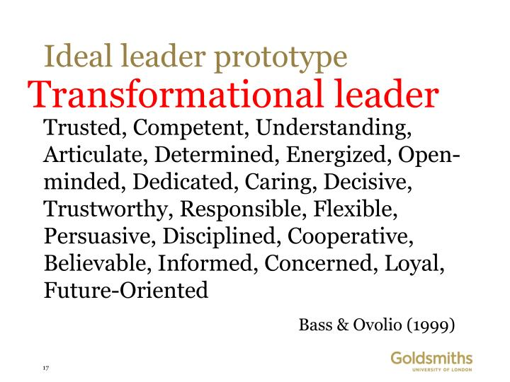 Ideal leader prototype