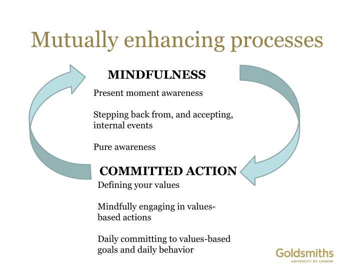Mutually enhancing processes