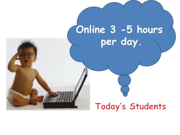 Online 3 -5 hours