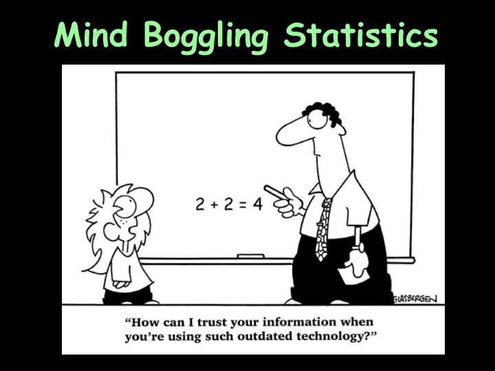Mind Boggling Statistics