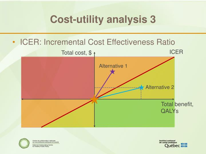 Cost-utility analysis 3
