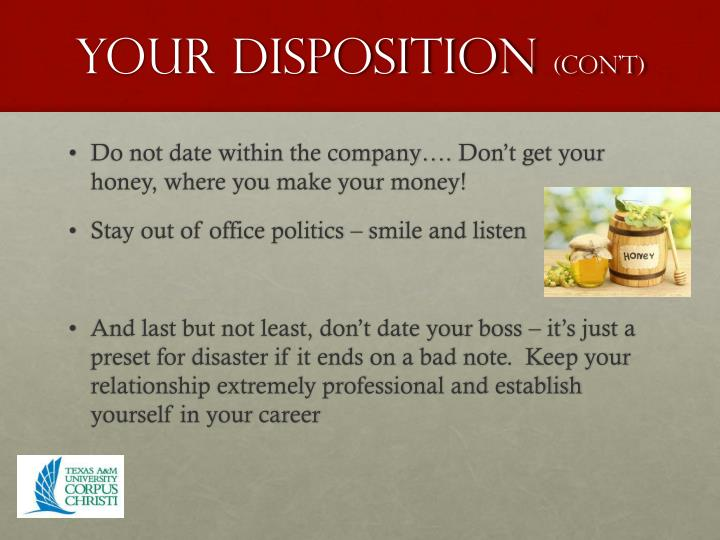 Your disposition