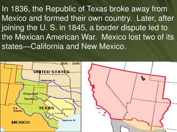 Map Of Arizona And Bordering States  |What Two States Border Mexico