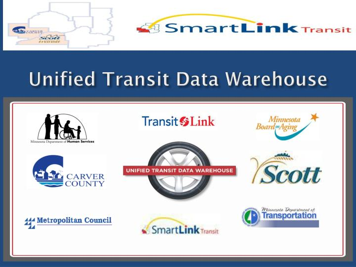Unified Transit Data Warehouse