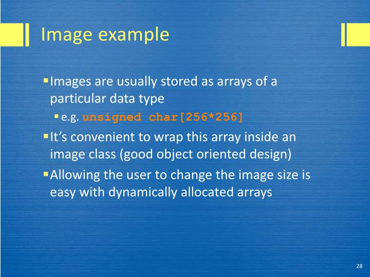 Image example