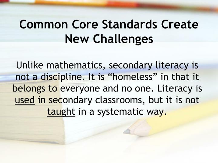 Common Core Standards Create