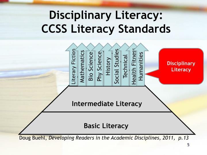 Disciplinary Literacy:
