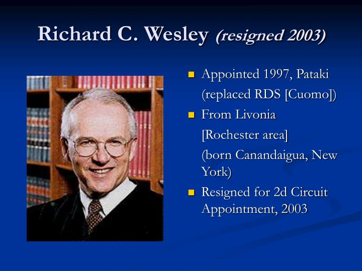 Richard C. Wesley
