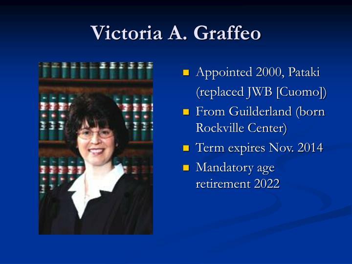 Victoria A. Graffeo
