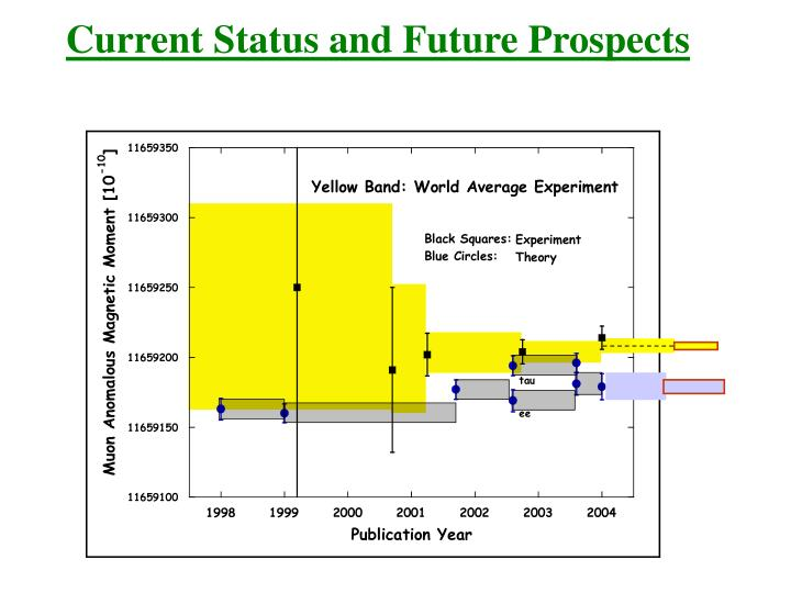 Current Status and Future Prospects