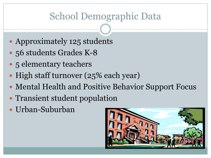 School demographic data