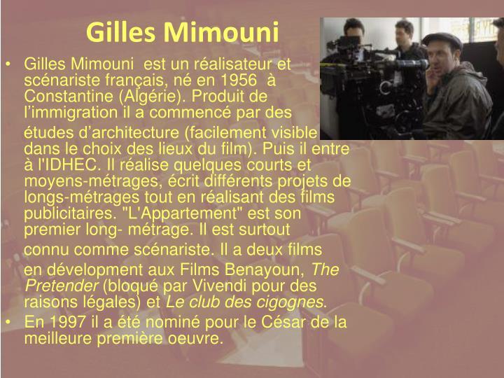Gilles Mimouni