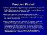 president kimball1