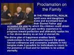 proclamation on the family1