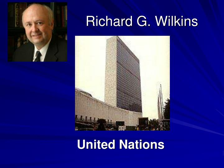 Richard G. Wilkins