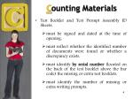 c ounting materials