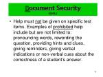 d ocument security cont3