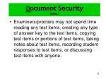 d ocument security cont4