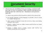 d ocument security cont5